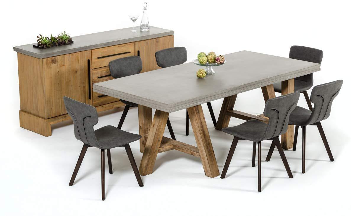 5 Best Concrete Dining Tables Review Concrete Design Tips